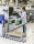 ESD-Etagenwagen mit 3 Böden, 3 Ebenen, 900 x 540 mm, 250 kg Tragfähigkeit, Verzinkt, mit Bremsen
