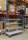 Serie 9000 Transportwagen, Etagenwagen, 4 Ebenen, 1000 x 600 mm, 300 kg Tragfähigkeit, Verzinkt / Weiß, mit Bremsen