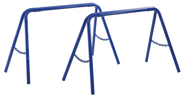 Unterstellbock, 1095x525x665 mm, 325 kg Tragfähigkeit, Blau