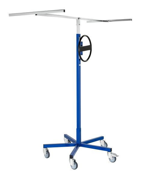 Plattenlift, 1820x800x1790 mm, 70 kg Tragfähigkeit, Blau