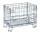 Gitterbox, 860x580x680 mm, 300 kg Tragfähigkeit, Verzinkt