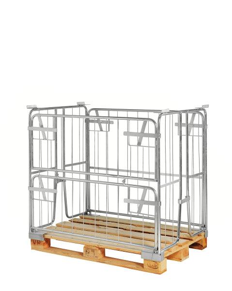 Palettencontainer, 1200x800x1000 mm, Verzinkt