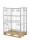 Palettencontainer, 1200x800x1500 mm, Verzinkt