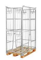 Palettencontainer, 1200x800x1800 mm, Verzinkt