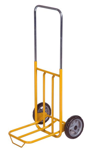 Gepäck- & Sackkarre, 500x420x1000 mm, 50 kg Tragfähigkeit, Gelb