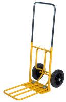 Gepäck- & Sackkarre, 800x430x1150 mm, 150 kg Tragfähigkeit, Gelb