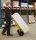 Gepäck- & Sackkarre, 780x555x1110 mm, 250 kg Tragfähigkeit, Gelb