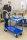 Etagenwagen mit 2 Böden, vollständig geschweißt, 2 Ebenen, 940 x 440 mm, 400 kg Tragfähigkeit, Weiß, mit Bremsen