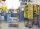 Tablettwagen Antirutschbeschichtung, 3 Ebenen, 630 x 370 mm, 220 kg Tragfähigkeit, Elektrolytisch verzinkt / Blau