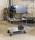 Etagenwagen mit 3 Böden, vollständig geschweißt, 3 Ebenen, 1080x450x1000 mm, 400 kg Tragfähigkeit, Weiß, mit Bremsen