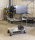 Etagenwagen mit 3 Böden, vollständig geschweißt, 3 Ebenen, 1070x550x1000 mm, 400 kg Tragfähigkeit, Weiß, ohne Bremsen