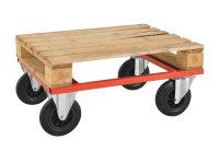 Palettenwagen - niedrig, 800x600x270 mm, 800 kg...