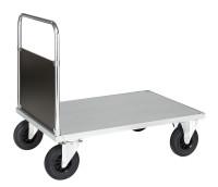 Plattformwagen, 1165 x 800 mm, 500 kg Tragfähigkeit, Verzinkt, ohne Bremsen