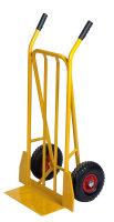 Gepäck- & Sackkarre, 470x555x1110 mm, 250 kg Tragfähigkeit, Gelb