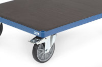 Plattform aus Siebdruckplatte - Mehrpreis -, Blau,...