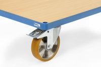 Räder mit PU-Bereifung - Mehrpreis -, Blau, 125 x 32...