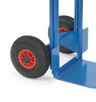 PU-Bereifung - Mehrpreis -, Blau, 260 x 85 mm Blockprofil...