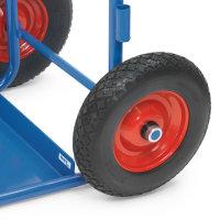 PU-Bereifung - Mehrpreis -, Blau, 400 x 100 Blockprofil...