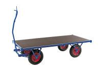 Schwerlastwagen, 2000x1000 mm, 1500 kg Tragfähigkeit, Blau