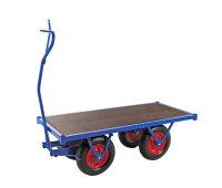 Schwerlastwagen, 1500x700 mm, 1500 kg Tragfähigkeit, Blau