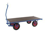 Schwerlastwagen, 2500x1000 mm, 1500 kg Tragfähigkeit, Blau