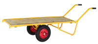 Schwerlastwagen, 1650x615 mm, 500 kg Tragfähigkeit, Gelb