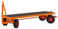 Industrieanhänger mit 4-Rad-Achsschenkellenkung, bis 5000 kg Traglast, in verschiedenen Größen
