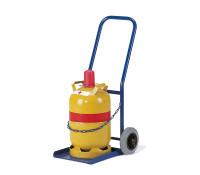 Propangasflaschenroller, 500x560 mm, 50 kg Tragkraft