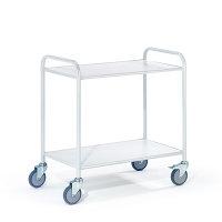 Bürowagen 2 Etagen, 780x500 mm, 100 kg Tragkraft