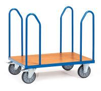 Seitenbügelwagen, 500 kg Tragfähigkeit, Blau