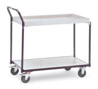 ESD-Tischwagen, 300 kg Tragfähigkeit, Grau