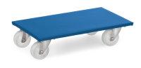 Möbelroller, 350 kg Tragfähigkeit, Blau