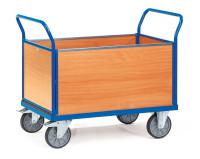 Vierwandwagen, 500 kg Tragfähigkeit, Blau
