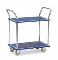 Ganzstahlwagen, 120 kg Tragfähigkeit, Blau