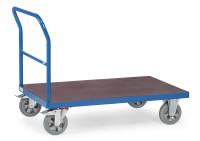 Schiebebügelwagen, 1200 kg Tragfähigkeit, Blau