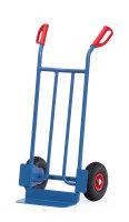 Stahlrohrkarre, 250 kg Tragfähigkeit, Blau