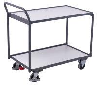 ESD Tischwagen mit 2 Ladeflächen