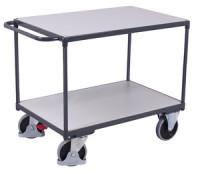 Schwerer ESD Tischwagen mit 2 Ladeflächen
