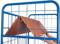 Etagenwagen hoch mit klappbaren Etagenböden und Gitterwänden