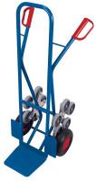 Treppenkarre mit 2 fünfarmigen Radsternen, Modell 2