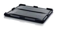 ESD-Auflagedeckel für Big Boxen, 1200x1000 mm, Schwarz