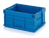 Falt-KLT-Behälter, 600x400x280 mm, Lichtblau