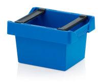Mehrwegbehälter mit Stapelbügel, 300x200x170...