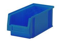 Sichtlagerkasten PLK 3a, blau, aus PP, 290x150x125 mm