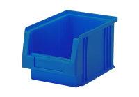 Sichtlagerkasten PLK 3, blau, aus PP, 230x150x125 mm