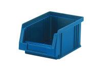 Sichtlagerkasten PLK 4, blau, aus PP, 164x105x75 mm