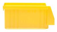 Sichtlagerkasten PLK 4 SP, gelb, 164x105x75 mm
