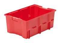Drehlagerkasten DLK 1c, Farbe rot, 480x312x200 mm