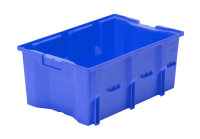 Drehlagerkasten DLK 1c, Farbe blau, 480x312x200 mm