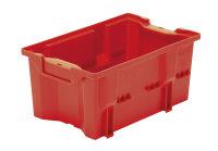 Drehlagerkasten DLK 2c, Farbe rot, 328x210x150 mm